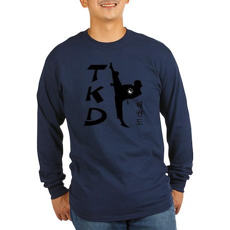 Tae Kwon Do II Long Sleeve Dark T-Shirt