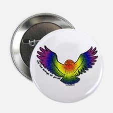 On the Wings of Pride Button