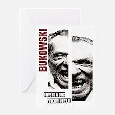 Unique Bukowski Greeting Card