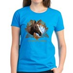 I'd Rather Be Riding Horses Women's Dark T-Shirt
