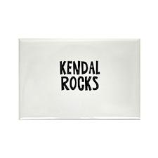 Kendal Rocks Rectangle Magnet