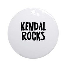 Kendal Rocks Ornament (Round)