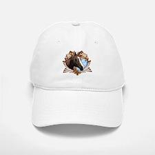 Horse Lover Crest Graphic Baseball Baseball Cap