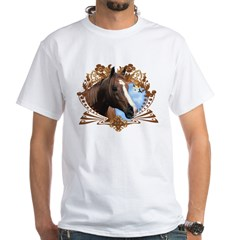 Horse Lover Crest Graphic Shirt