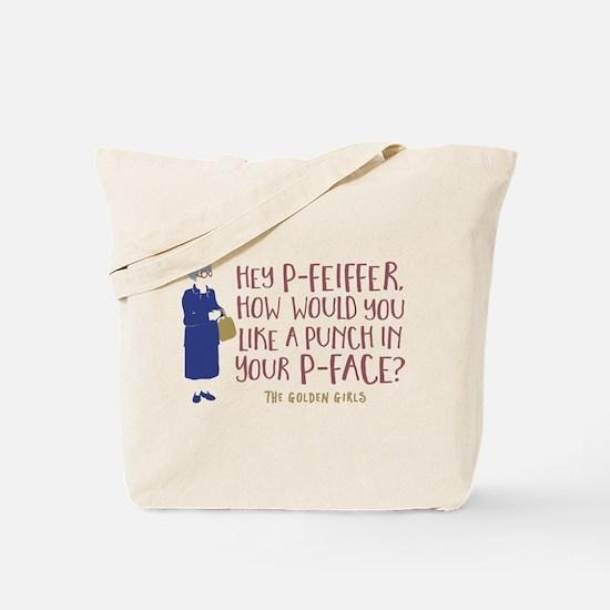 Golden Girls Pfeiffer Tote Bag