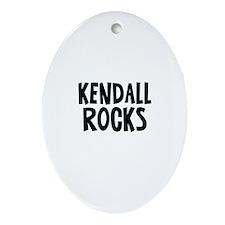 Kendall Rocks Oval Ornament