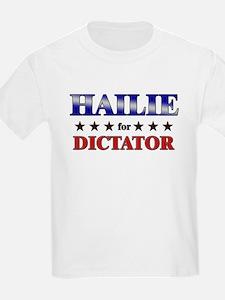 HAILIE for dictator T-Shirt