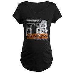 Champ Elysees Distressed T-Shirt