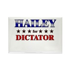 HAILEY for dictator Rectangle Magnet