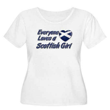 Everyone loves a Scottish girl Women's Plus Size S