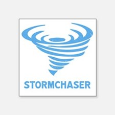"Cool Stormchasers Square Sticker 3"" x 3"""