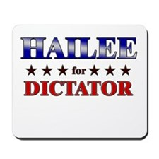 HAILEE for dictator Mousepad