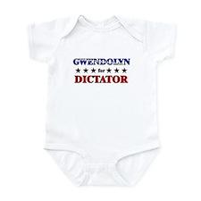 GWENDOLYN for dictator Infant Bodysuit