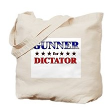 GUNNER for dictator Tote Bag