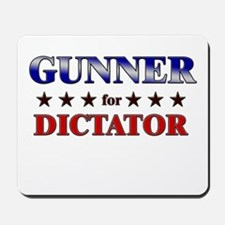 GUNNER for dictator Mousepad