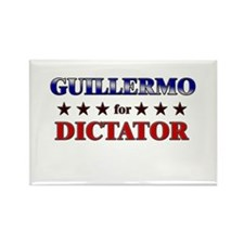 GUILLERMO for dictator Rectangle Magnet