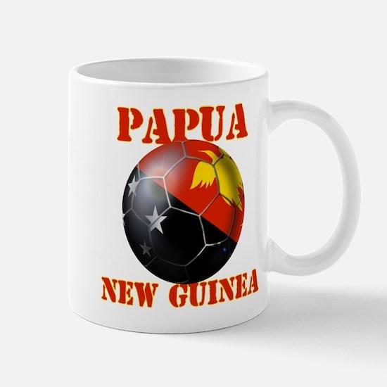 Papua New Guinea Soccer Mug