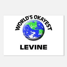 World's Okayest Levine Postcards (Package of 8)