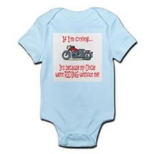 BikerBaby Cry - Uncle Infant Bodysuit