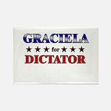GRACIELA for dictator Rectangle Magnet