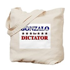 GONZALO for dictator Tote Bag