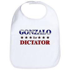GONZALO for dictator Bib