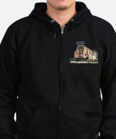 Cute Steak cheese Zip Hoodie