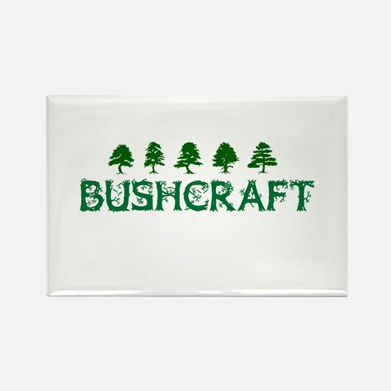 Bushcraft with Trees Magnets