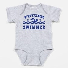 Cute Coach swim Baby Bodysuit