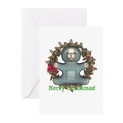 Teddy Bear Christmas Cards (Pk of 10)