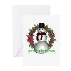 Snowman Christmas Cards (Pk of 10)