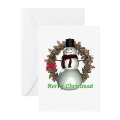 Snowman Christmas Cards (Pk of 10)