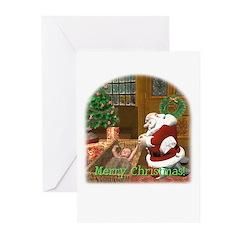 Praying Santa Christmas Cards (Pk of 10)