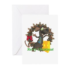 Rattachewie Christmas Cards (Pk of 10)