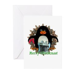 Pongo Penguin Christmas Cards (Pk of 10)