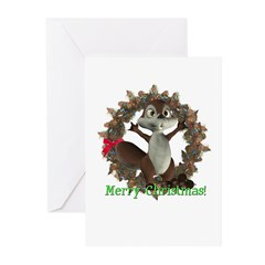 Nickie Squirrel Christmas Cards (Pk of 10)