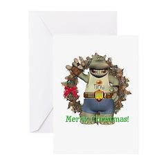 Heath Hippo Christmas Cards (Pk of 10)
