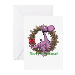 Dusty Dragon Christmas Cards (Pk of 10)