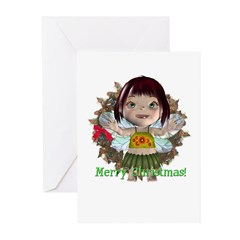Blossom Christmas Cards (Pk of 10)