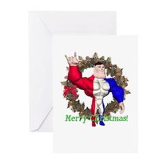 Alpha Man Christmas Cards (Pk of 10)