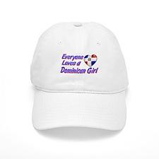 Everyone loves a Dominican girl Baseball Cap