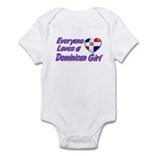 Everyone loves a Dominican girl Infant Bodysuit