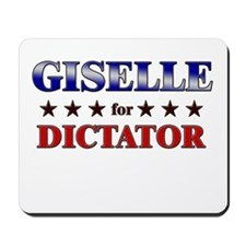 GISELLE for dictator Mousepad