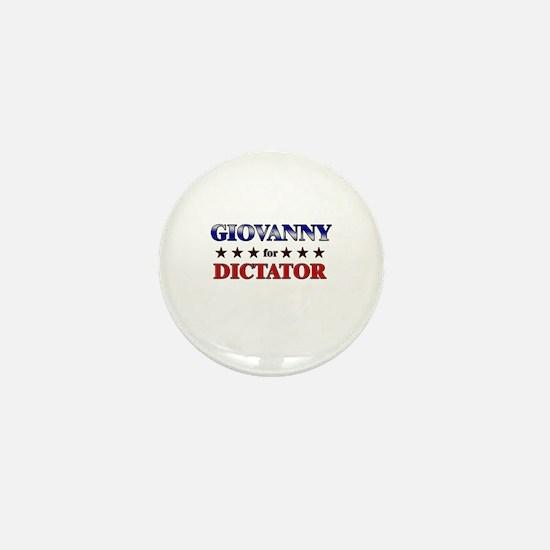 GIOVANNY for dictator Mini Button