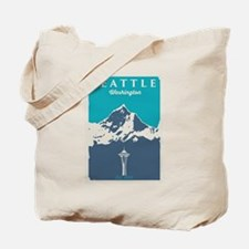Seattle. Tote Bag