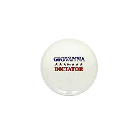 GIOVANNA for dictator Mini Button (10 pack)