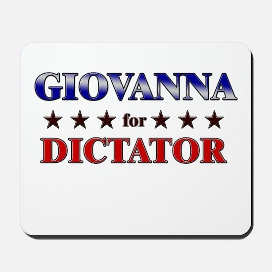 GIOVANNA for dictator Mousepad