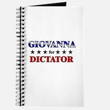 GIOVANNA for dictator Journal
