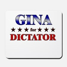 GINA for dictator Mousepad