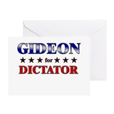 GIDEON for dictator Greeting Card